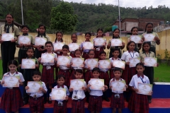 Winners of Hindi Poetry Competition